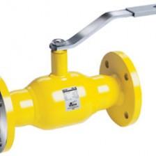 Кран шаровой газовый Vexve Тип 309 Полнопроходной, стальной, фланцевое / фланцевое