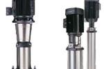 Вертикальные многоступенчатые насосы Grundfos CR, CRE