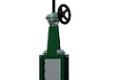 Шиберные ножевые задвижки TECOFI VGC5400-08 с квадратным ножом и редуктором